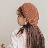 IN'SHOP編織針織貝蕾帽-共3色【KT27162】