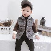 兒童馬甲 加厚保暖2018新款棉衣嬰兒寶寶冬裝外套潮 BF10492【旅行者】