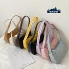 手提包 網紅流行的小包包女韓版新款潮ins2021百搭側背腋下包法棍手提包 【99免運】