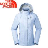 【The North Face 美國 女款 DRYVENT防水外套《藍色點點》】2VEK/防水透氣/防風/衝鋒衣★滿額送