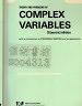二手書R2YB《COMPLEX VARIABLES》1981-SPIEGEL-0
