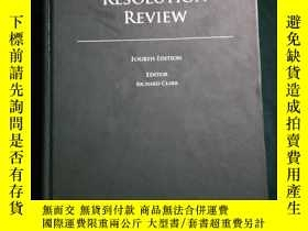 二手書博民逛書店THE罕見DISPUTE RESOLUTION REVIEWY1