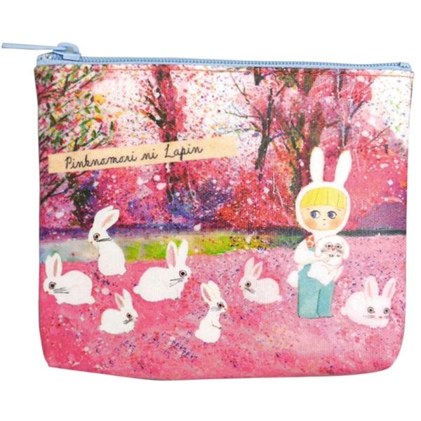 【日本製】【ECOUTE!】萬用包 面紙包 兔子圖案 SD-3768 - ecoute!
