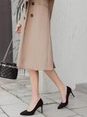 尖頭細跟高跟鞋黑色禮儀職業鞋百搭性感法式少女網紅新款單鞋 沸點奇跡