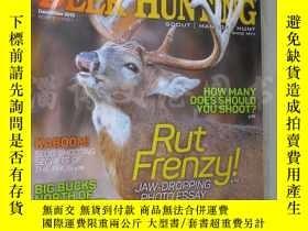 二手書博民逛書店Deer罕見& Deer Hunting December 2015Y16472