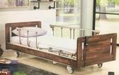 電動床/電動病床(承重加強)鋼板結構 三馬達床 MM-888復古風 木飾造型板 贈好禮