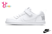 NIKE COURT BOROUGH LOW (PSV) 中童 運動鞋 小白鞋 休閒鞋 板鞋 P7055#白色◆OSOME奧森鞋業