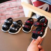 男童涼鞋1-3歲軟底寶寶學步鞋時尚休閒嬰兒鞋2韓版女童露趾沙灘鞋夢想巴士