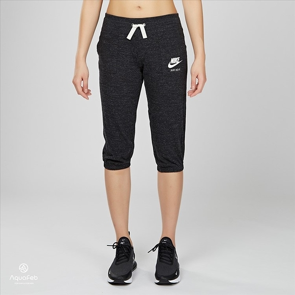 Nike Sportswear Gym Vintage Capri 女大童 運動 針織 長褲 728403-010