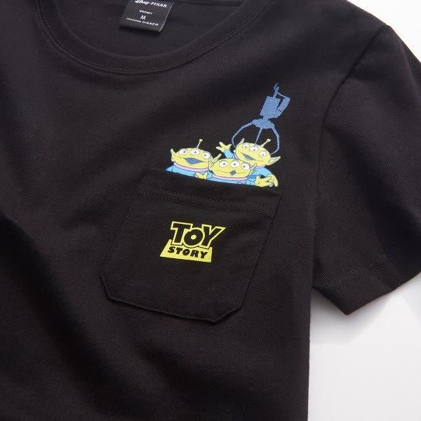 短T 三眼怪款口袋短T.(台灣製).情侶款【PDI038】.CACO