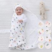 春秋夏薄款水洗純棉紗布新生兒包被 包巾 新生兒 嬰兒 寶寶包巾 橘魔法 Baby magic 現貨