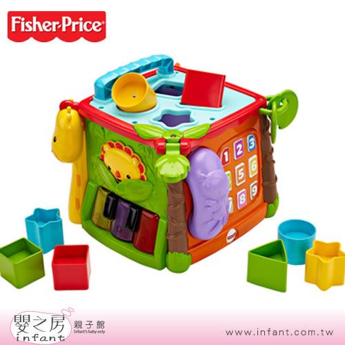 【嬰之房】Fisher Price費雪 可愛動物積木盒