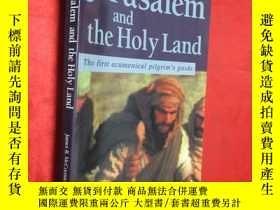 二手書博民逛書店Jerusalem罕見and the Holy Land: Th