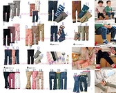 貝比幸福小舖【23020】NISSEN等日本九分褲襪大總匯 款式最多最齊全(原裝厚款! 超值~!)-款式21~Q