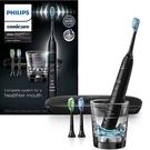 Philips【美國代購】飛利浦 電動牙刷 超音波鑽石靚白9300系列 智慧型 HX9903/11 - 黑