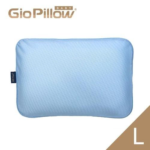 韓國GIO Pillow 超透氣護頭型嬰兒枕頭【單枕套組L號】新生兒~2歲以上適用[衛立兒生活館]