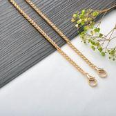 交換禮物-5mm粗直金色燈籠鍊包包鍊子金屬包鍊肩帶包帶子斜跨金屬鍊包配件