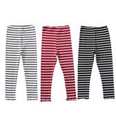 條紋內搭褲 男女童可穿 彈力針織打底褲 88204