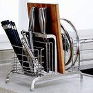 一件85折-304不銹鋼刀架砧板架鍋蓋架置物架 菜刀架刀座菜板架子刀具架XW