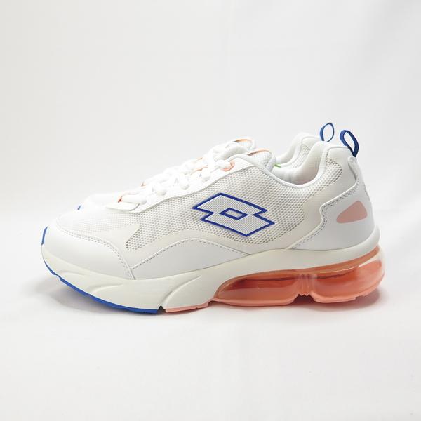 LOTTO FLOAT 氣墊跑鞋 慢跑鞋 緩震 夜間反光 LT0AWR2199 女款 米白【iSport愛運動】