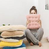 【BUNNY LIFE】朵朵棉花絨坐墊椅墊-多色可選