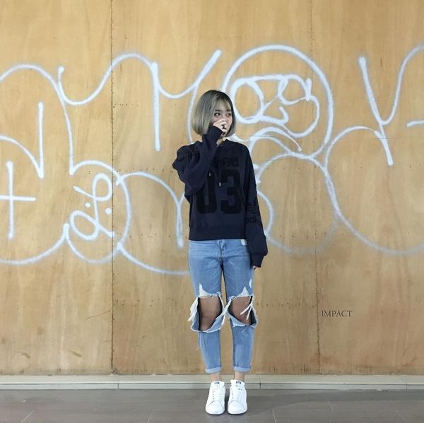 IMPACT Adidas Originals Fleece Hoodie 帽T 針織 深藍 號碼 女版 運動 休閒 百搭 BS4288