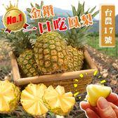 【果之蔬】一口吃蜜鳳梨X3顆(500-750g±10%/顆)