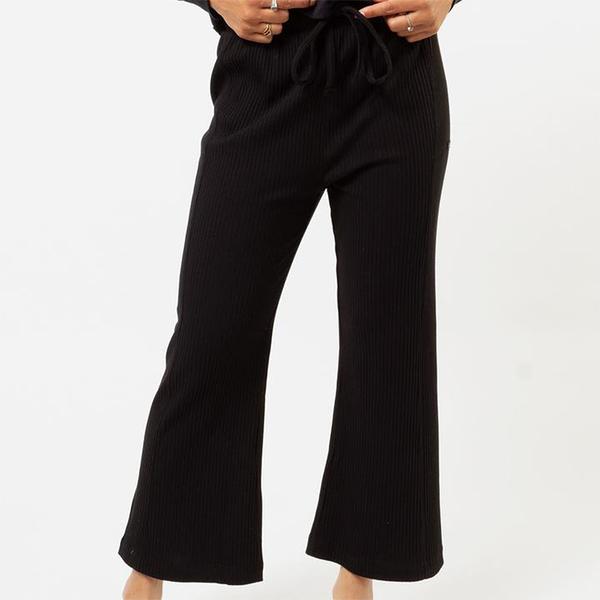 HURLEY|女 HURLEY KNIT CROP PANT 長褲