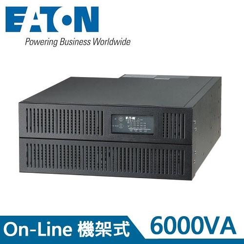 Eaton飛瑞 6KVA 機架型 On-Line 在線式UPS不斷電系統 C6000R