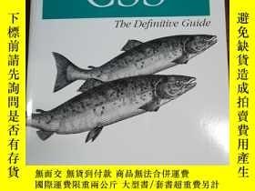 二手書博民逛書店CSS:罕見The Definitive GuideY12800