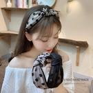 髮箍韓國網紅網紗女百搭仙女外出超仙髮帶洗臉森系頭箍寬邊壓髮卡【八折下殺】