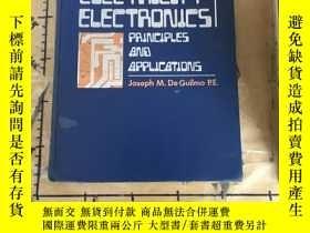 二手書博民逛書店Electricity罕見electronics, princi