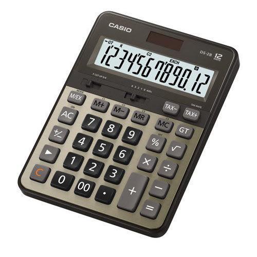 原廠公司貨 DS-2B-GD 卡西歐CASIO DS-2B-GD 12位數專業型計算機