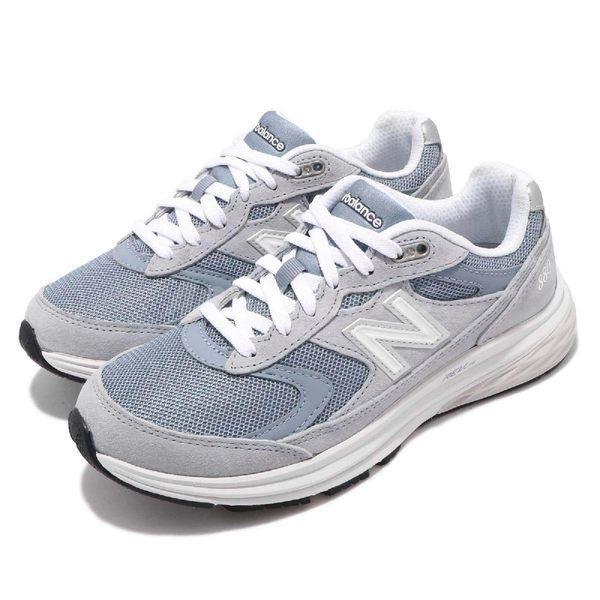 【五折特賣】New Balance 慢跑鞋 880 D Wide 寬楦 灰 白 麂皮鞋面 女鞋 健走鞋 運動鞋【PUMP306】 WW880AO3D