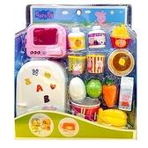 Peppa Pig 粉紅豬小妹 佩佩豬 迷你廚房玩具 冰箱遊戲組 TOYeGO 玩具e哥