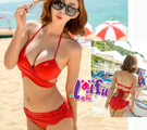 得來福,G48泳衣超亮色系適瘦有加大泳衣大胸游泳衣泳裝比基尼,售價650元