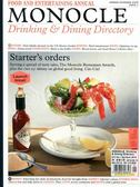MONOCLE Drinking & Dining Directory 春夏號/2018 第1期