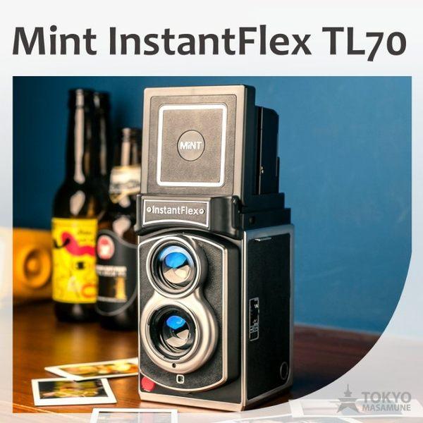 【東京正宗】 MiNT InstantFlex TL70 雙鏡 即影 即有 相機 黑色