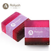 Aaliyah手工皂-紅酒多酚 沐浴乾爽保濕1入(不含盒子)