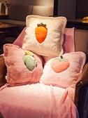 抱枕 被子兩用北歐風格ins靠墊客廳臥室床上沙發靠枕車內午睡神器【優惠兩天】
