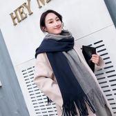圍巾 圍巾女冬季新款女士加厚正韓情侶百搭冬天男學生簡約毛線保暖圍脖