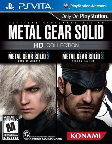 PSV Metal Gear Solid HD Collection 潛龍諜影 HD高解析度版(美版代購)