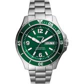 FOSSIL FB-02 霸氣個性時尚手錶-42mm FS5690