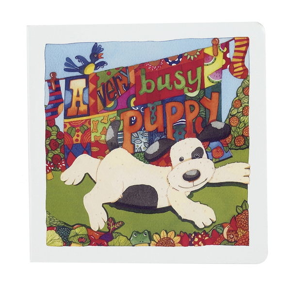 英國JELLYCAT A Very Busy Puppy Book 忙碌的狗狗(BB4BCP)