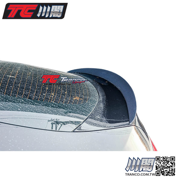 BENZ GLC C253 A款 碳纖維尾翼 現貨供應 TRANCO 川閣