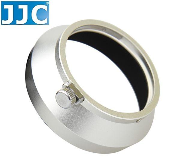 又敗家JJC銀色Olympus副廠遮光罩LH-48B遮光罩金屬可倒扣同原廠Olympus遮光罩LH48B太陽罩17mm 1:1.8 f1.8 f/1.8