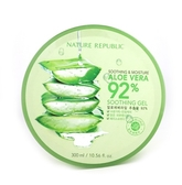 韓國 Nature Republic 92%蘆薈補水修護保濕凝膠 300ml【新高橋藥妝】網路熱銷