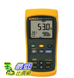 [玉山最低比價網] FLUKE/福祿克 53-IIB 溫度計 手持接觸型測溫儀