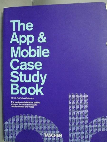 【書寶二手書T3/電腦_WFR】The App & Mobile Case Study Book_Ford, R