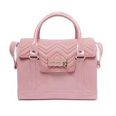 Petite Jolie 掀蓋肩背/手提波士頓包-粉紅色